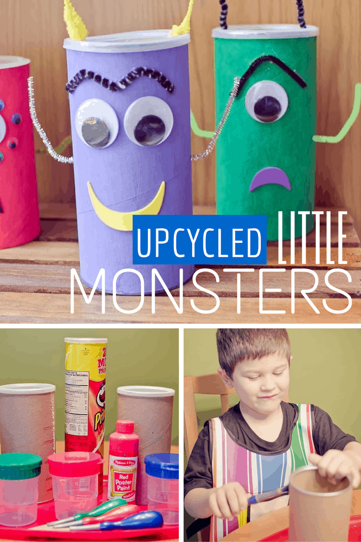 upcycled little monsters