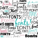 fonts featured image