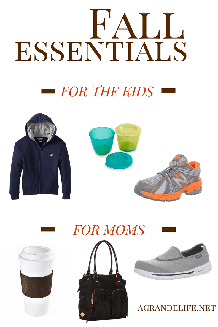 Fall Essentials for Kids & Mom