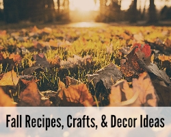 Fall Recipes, Crafts & Decor Ideas