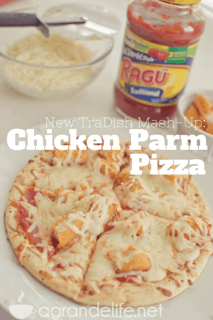 Chicken Parm Pizza #newtradish