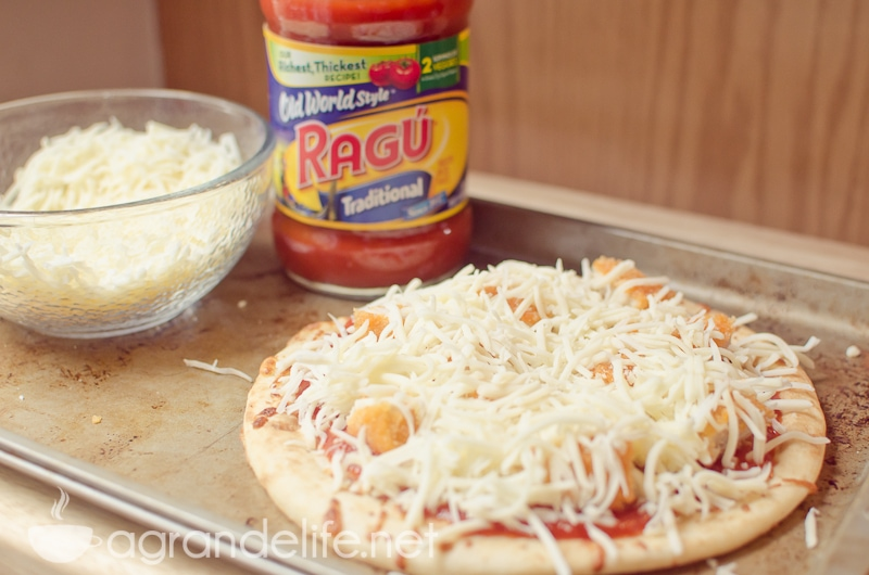 chicken parm pizza process-2