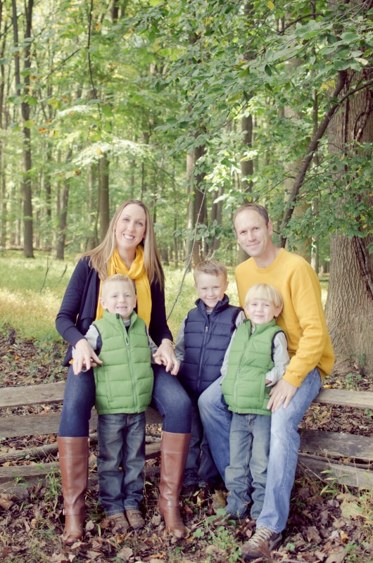 what to wear for fall family pictures - 3