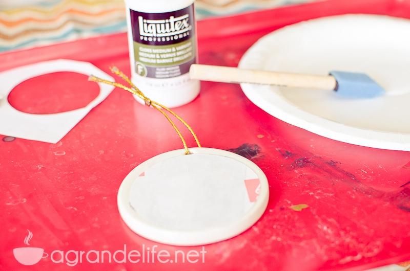DIY Photo Tranfer Ornaments-5