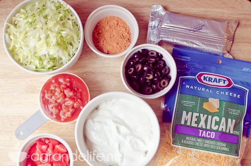 easy taco dip-1