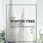 DIY Winter Tree Cones