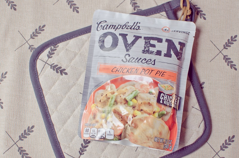 chicken pot pie #CampbellsSauces