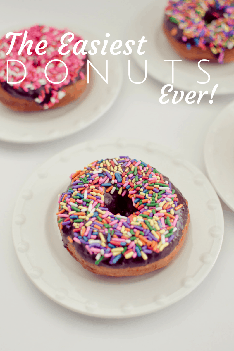 easiest donuts ever