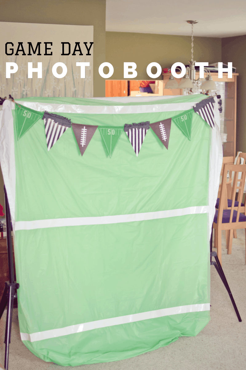 game day photobooth