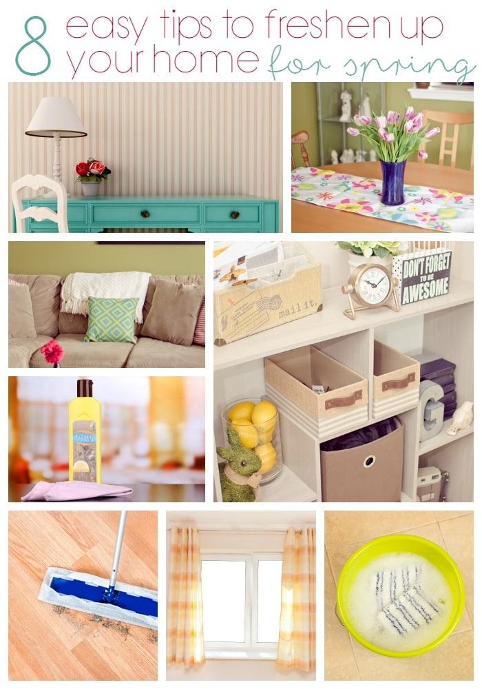 8 Easy Tips to Freshen Up Your Home