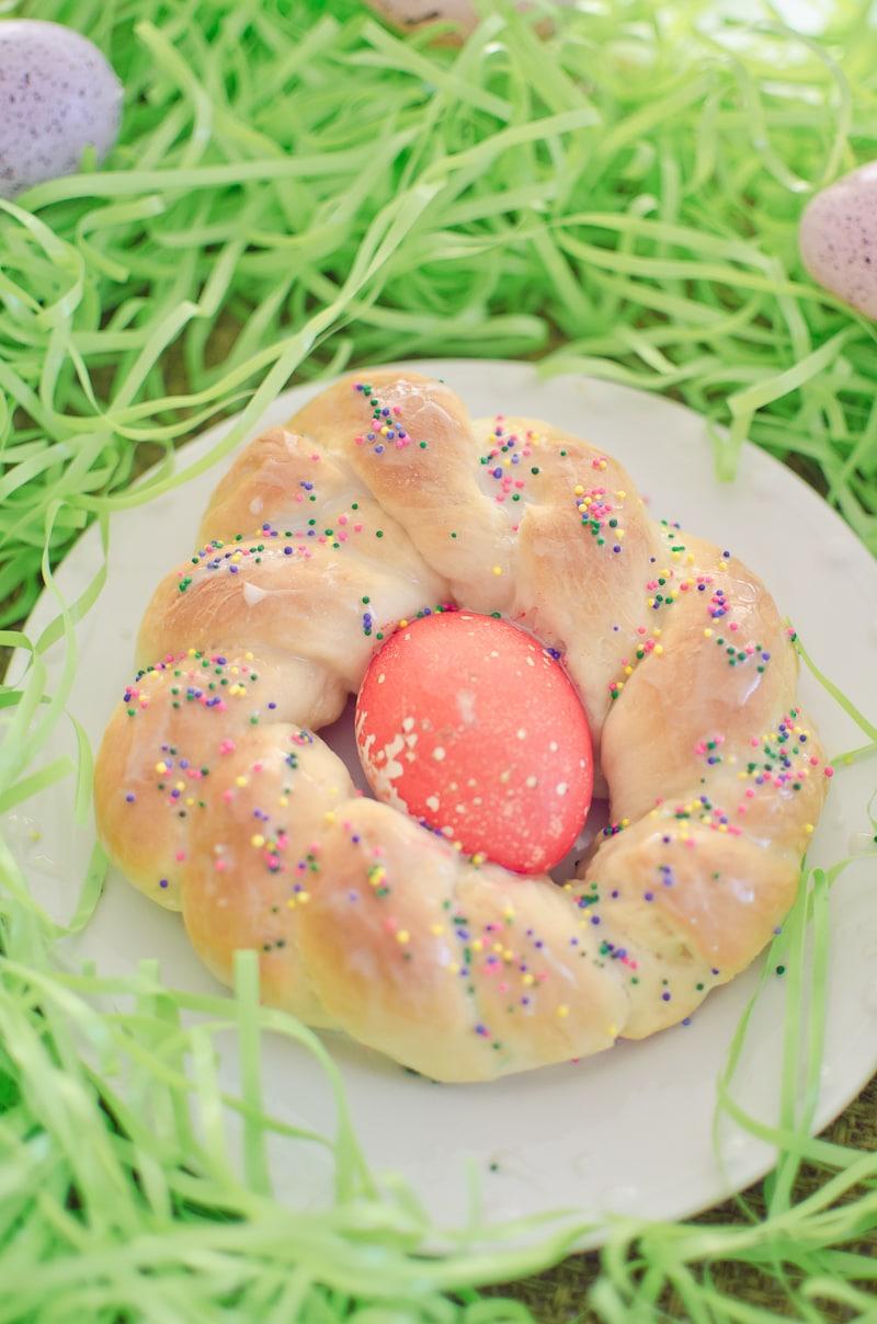 italian easter bread-3