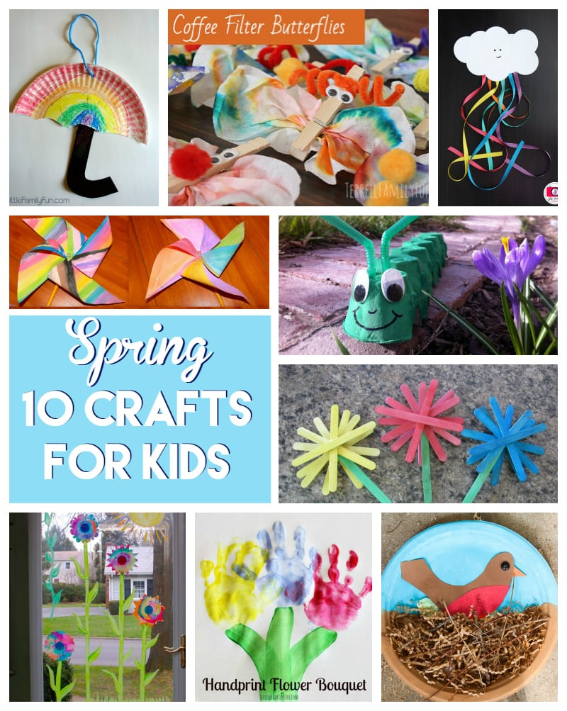 10 spring crafts for kids 1