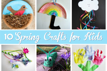 10 spring crafts for kids