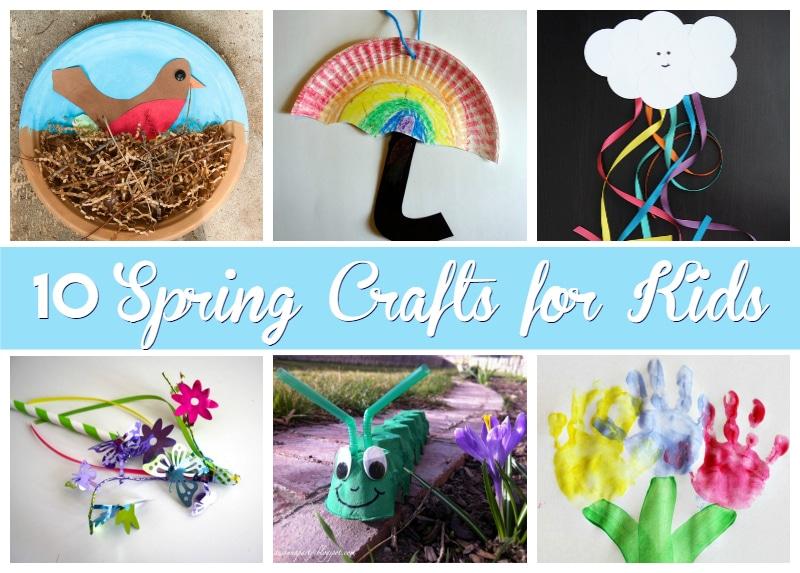 10 spring crafts for kids