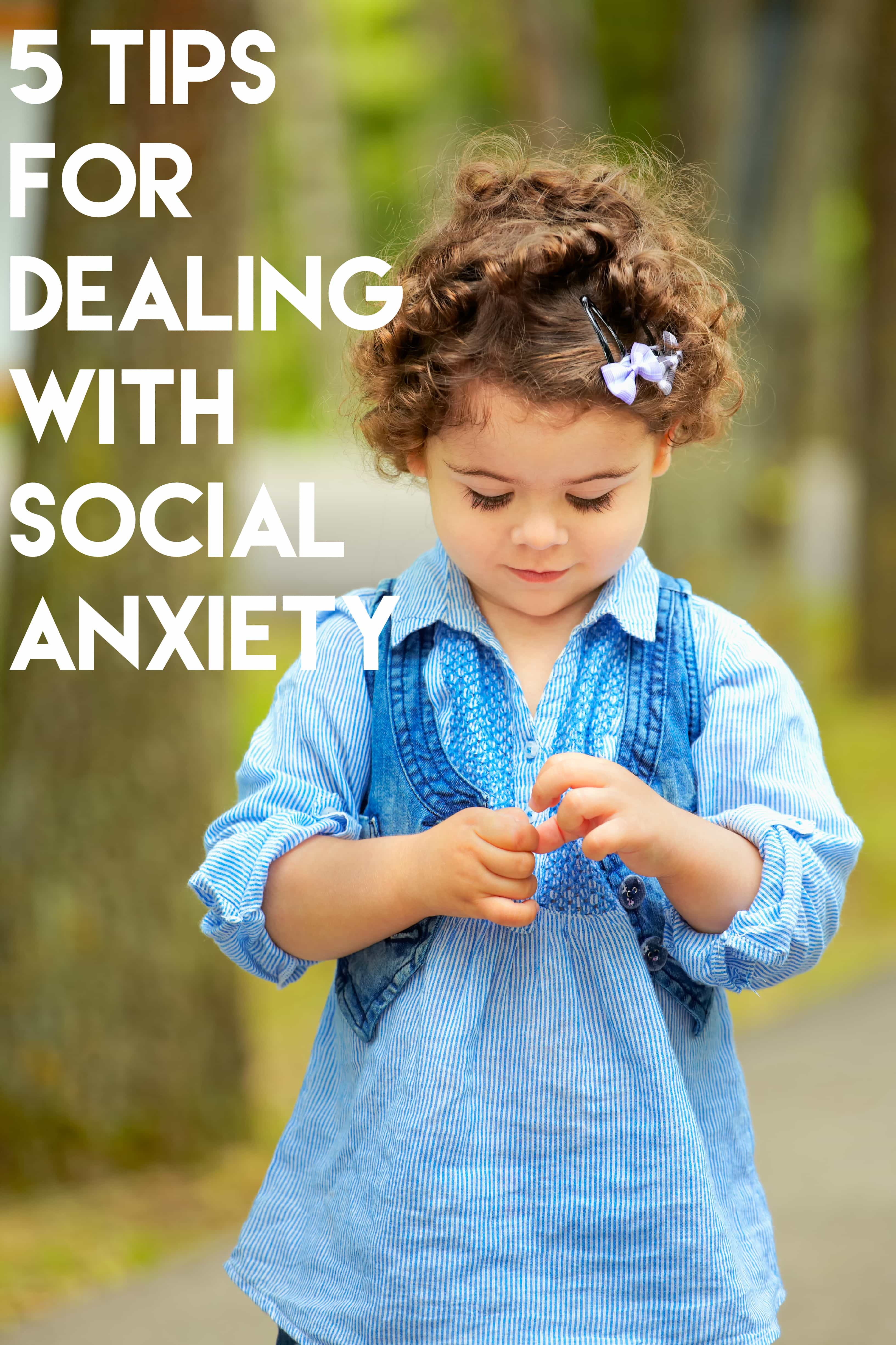 5 Tips For Dealing With Social Anxiety