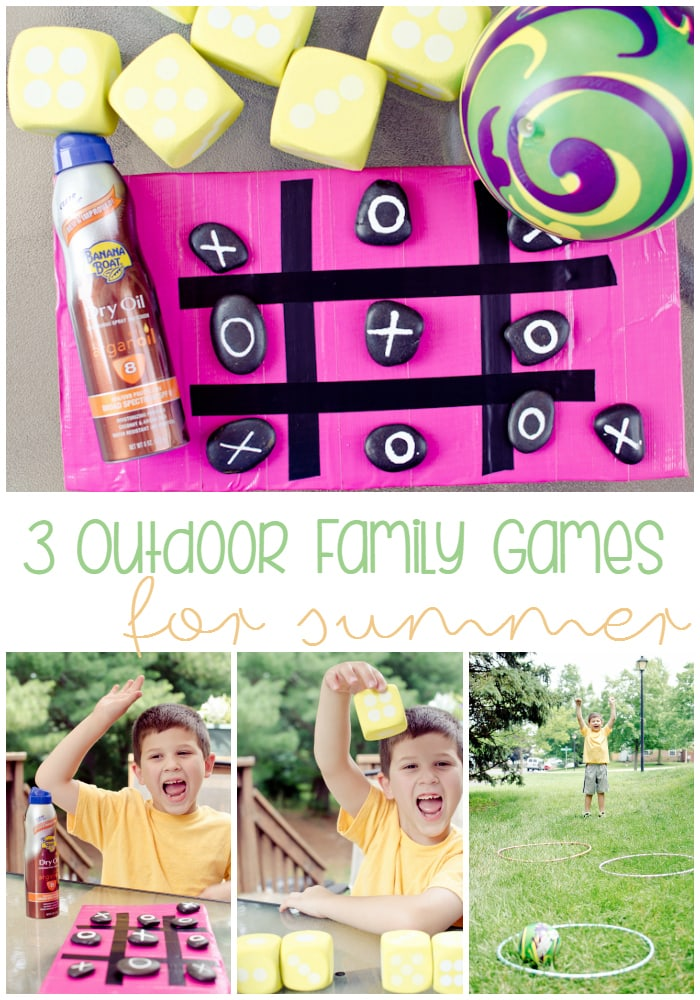 3 outdoor family games for summer