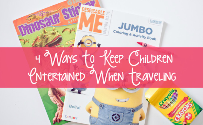 4 Ways To Keep Children Entertained When Traveling