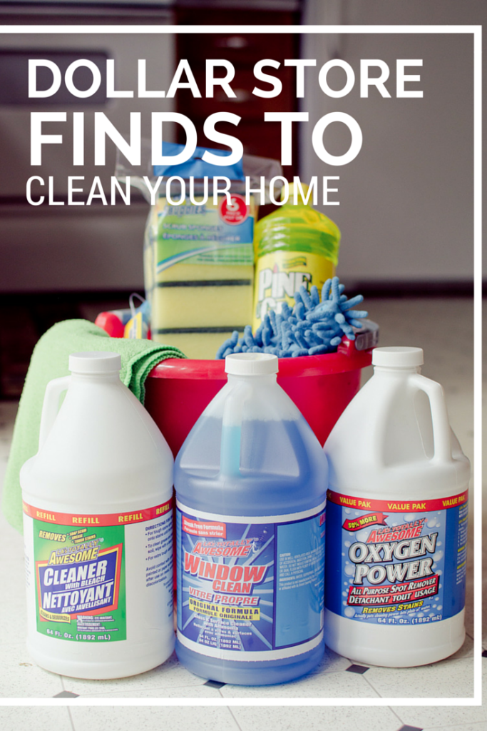 Dollar Store Finds to Clean Your House