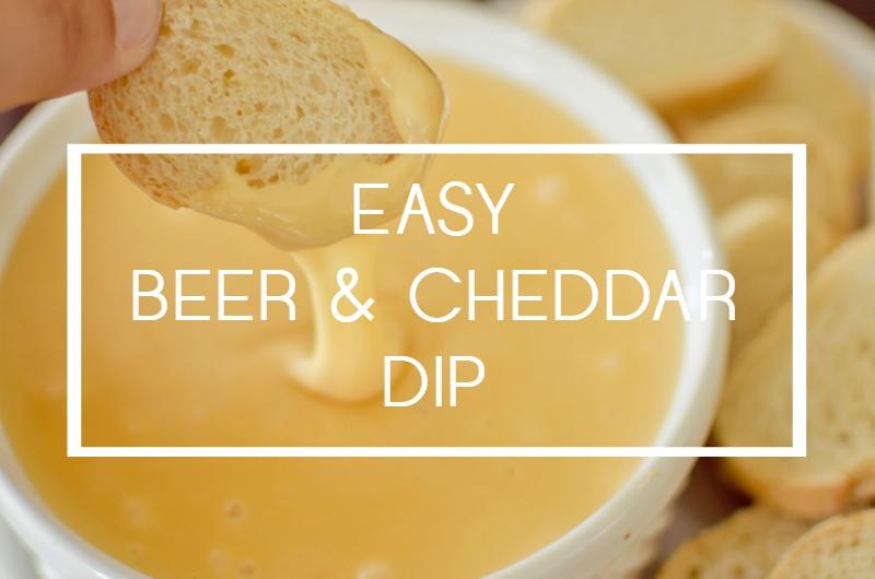 Easy Beer & Cheddar Dip - A Grande Life