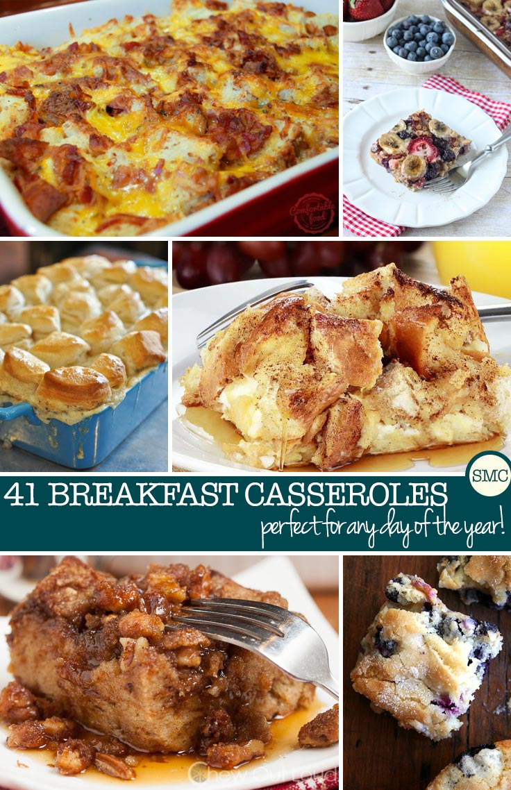 MakeAheadBreakfastCasserolesPinterest