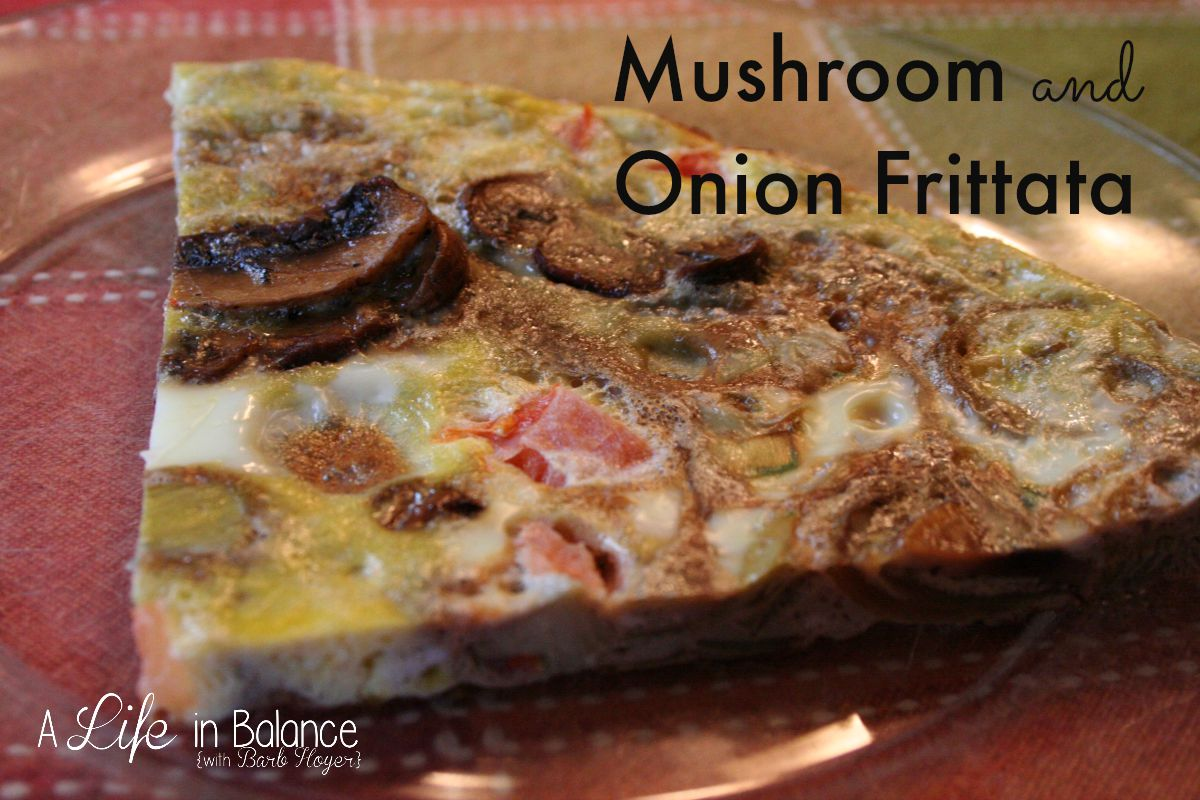 Mushroom-and-Onion-Frittata