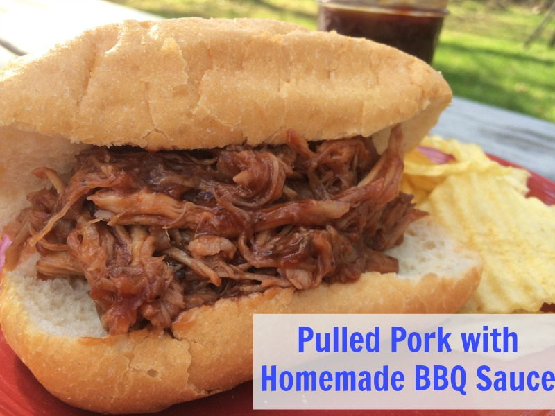 Pulled-Pork-with-Homemade-BBQ-Sauce