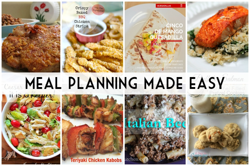 Meal Planning Made Easy Week 2