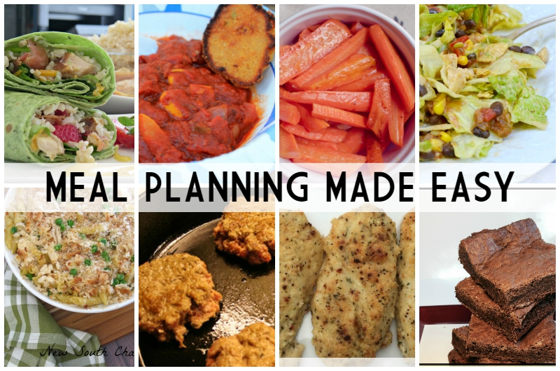 Meal Planning Made Easy Week 4