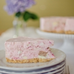 Strawberry Ice Cream Cheesecake