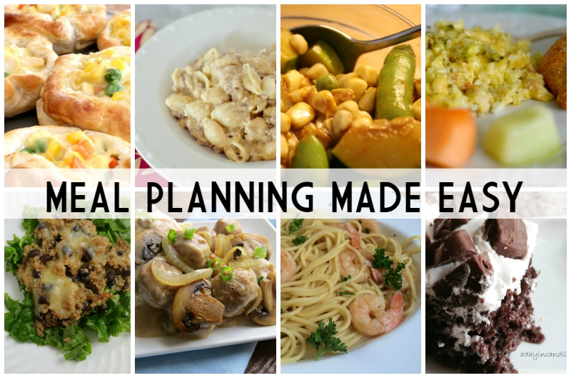 Meal Planning Made Easy Week 7