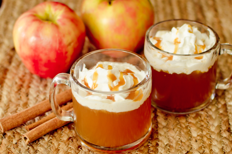 ... was about time to recreate a favorite fall drink: Caramel Apple Cider