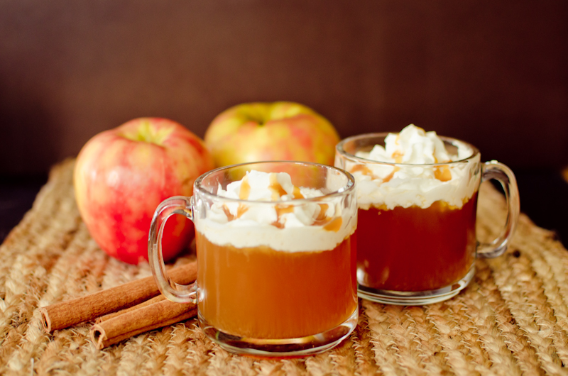 Now it's time to make the Caramel Apple Cider.