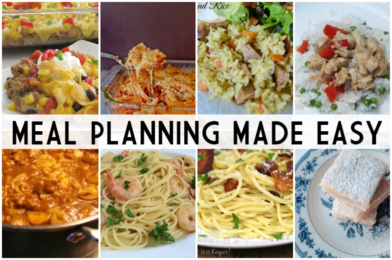 Meal Planning Made Easy Week 6