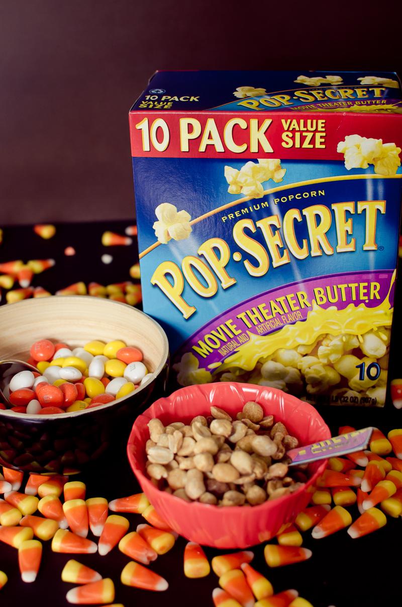 peanuts popcorn snack mix-1