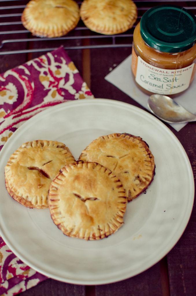 salted caramel apple hand pies-2