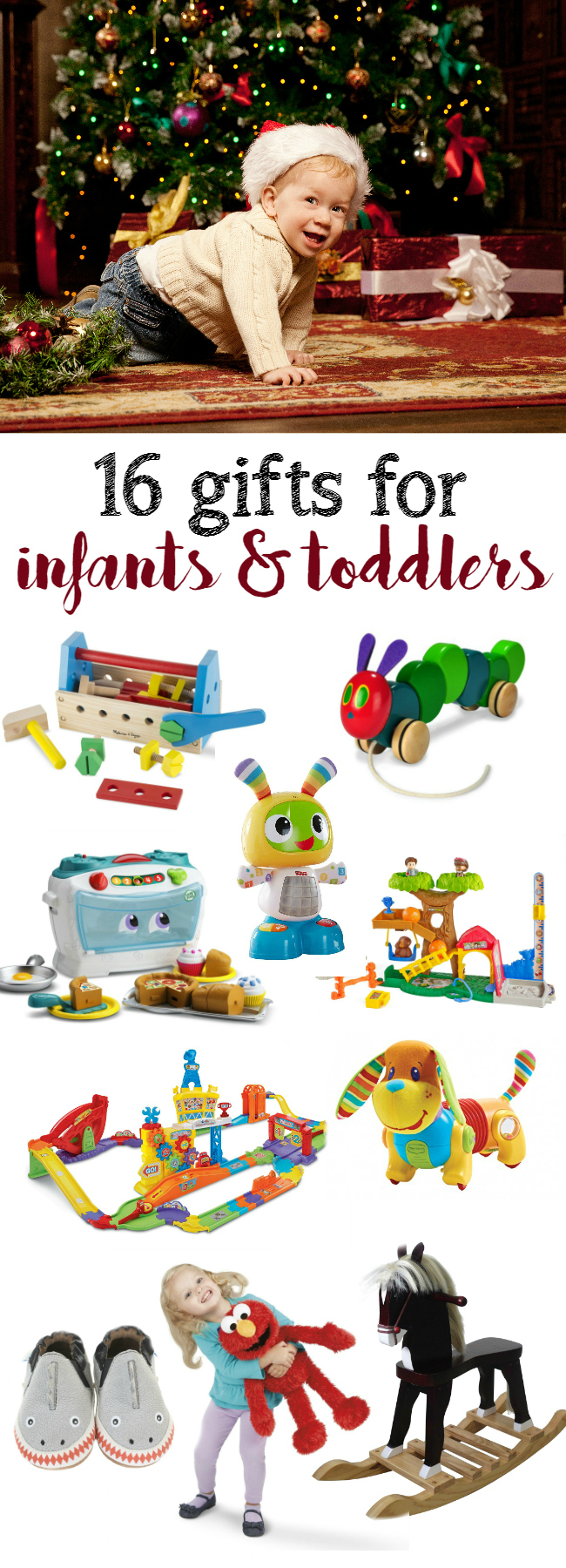 16 gifts for infants and toddlers