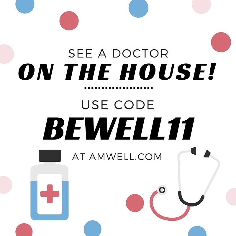 amwell free visit
