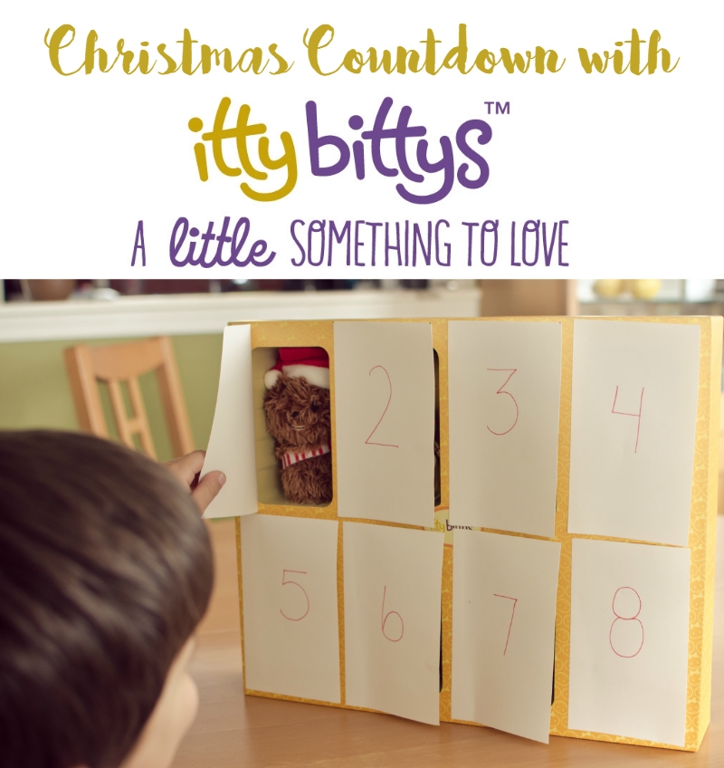 christmas countdown with itty bittys