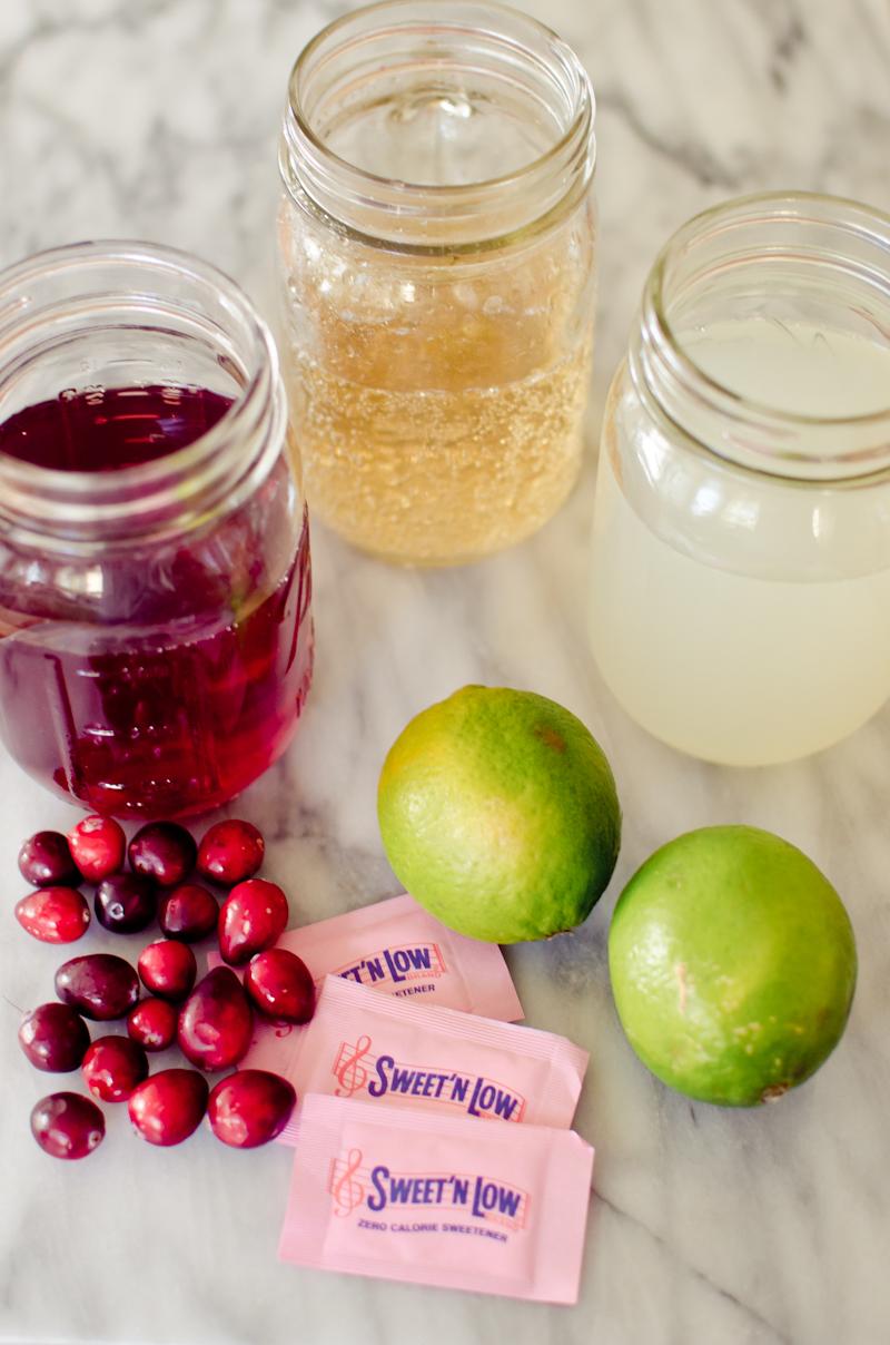 cranberry limeade spritzer-9