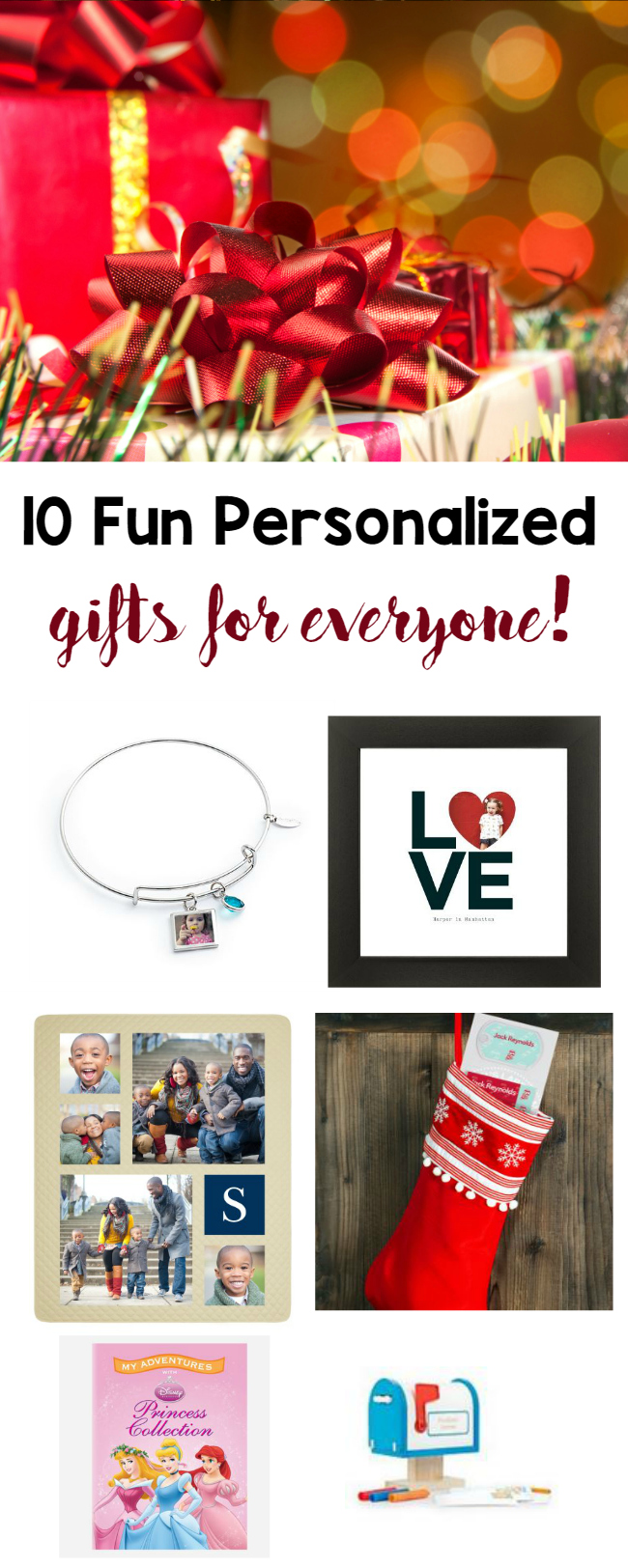 10 fun personalized gifts for everyone