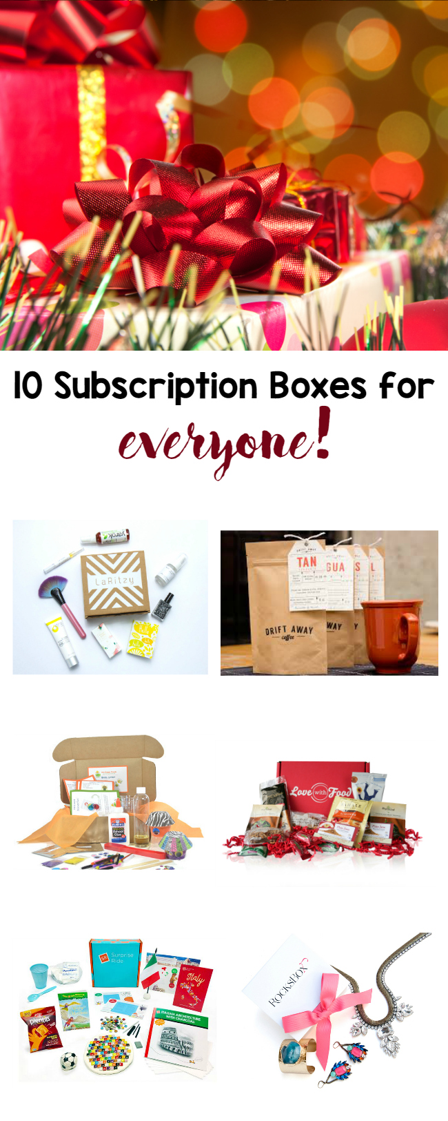 10 subscription boxes for everyone