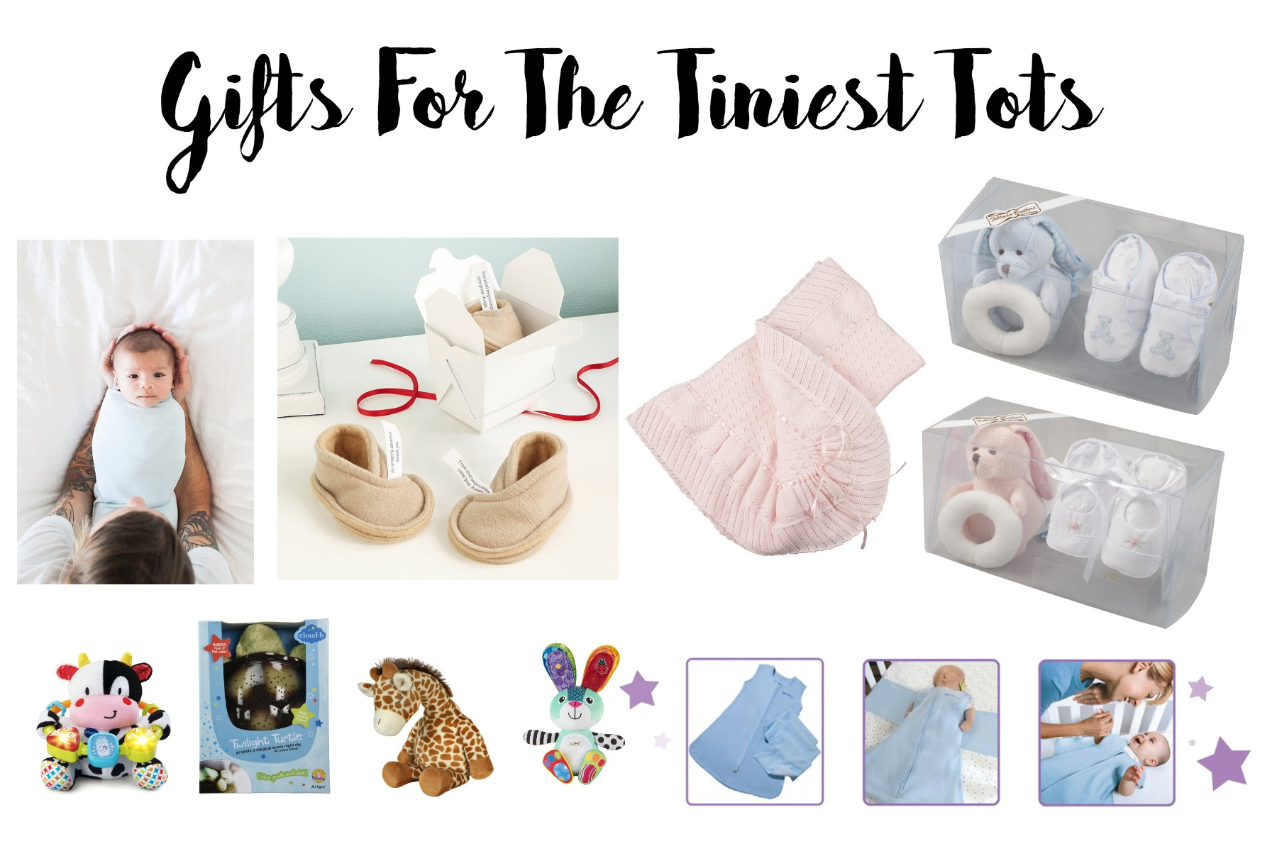 Gifts for Tiny Tots and New Parents