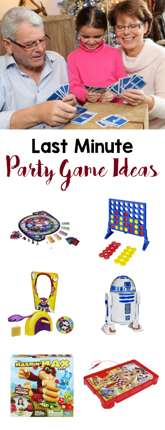 Last minute party game ideas a grande life for Last minute party ideas
