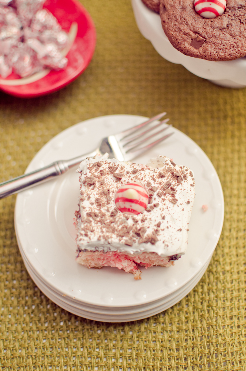 holiday peppermint swirl cake-6