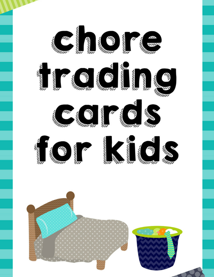 Chore Trading Cards for Kids