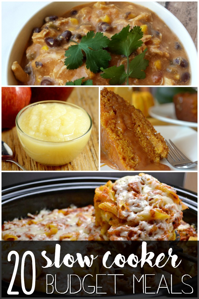 20 slow cooker budget meals