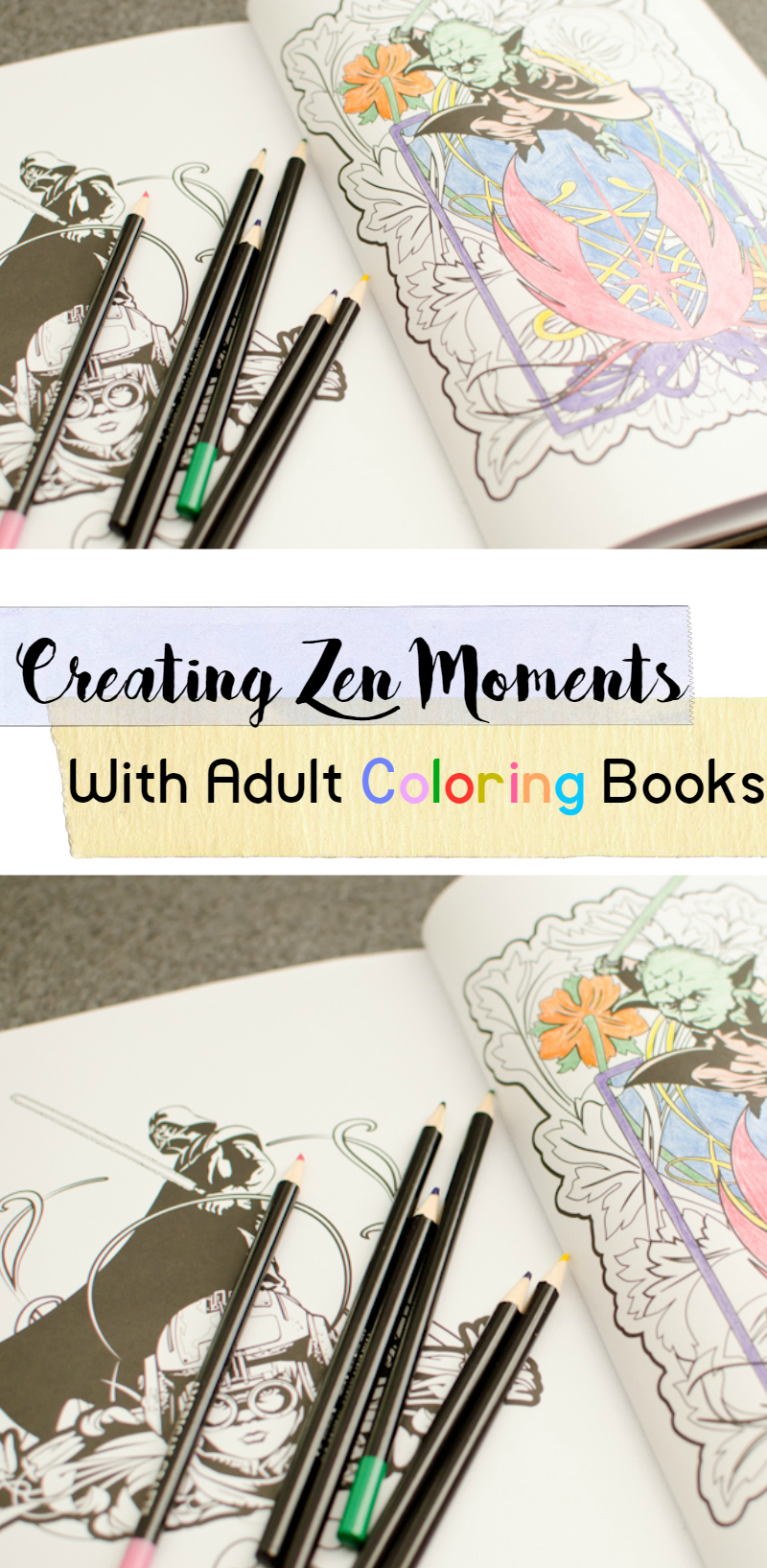 Creating Zen Moments With Adult Coloring Books