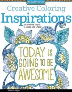 Creative Coloring Inspirations Adult Coloring Book