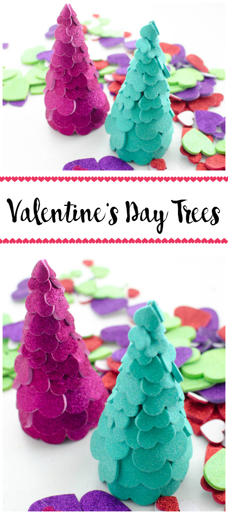 Valentine's Day Trees