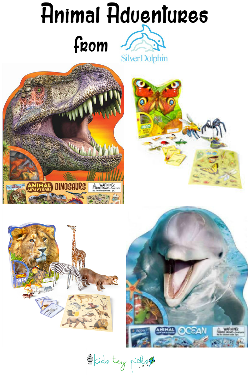 animal adventures from silver dolphin books